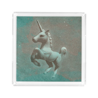 Unicorn Perfume Tray (Teal Steel)
