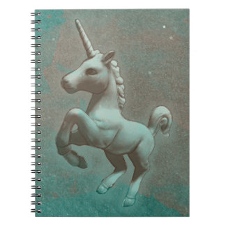 Unicorn Photo Notebook 80 Pages (Teal Steel)