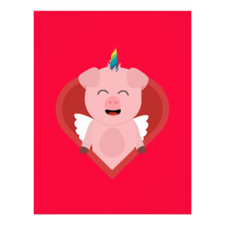 Unicorn Pig with Angelwings Z2h5i Flyer