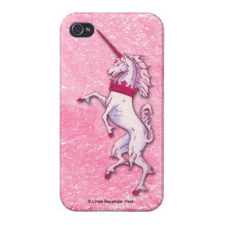 Unicorn Pink Glitter iPhone 4/4S Cases