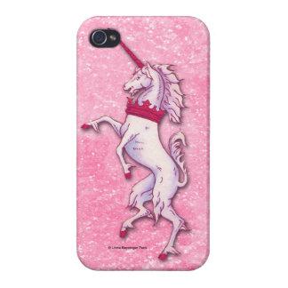 Unicorn Pink Glitter iPhone 4 Cover