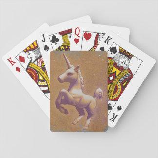 Unicorn Playing Cards Standard (Metal Lavender)