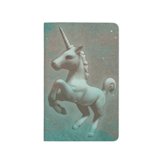 Unicorn Pocket Journal (Teal Steel)