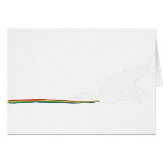 unicorn poo greeting card