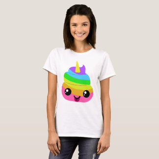 Unicorn Poop Emoji T-Shirt