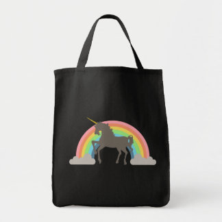 Unicorn Power Grocery Tote Bag