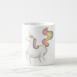 Unicorn princess coffee mug