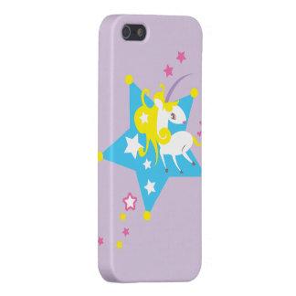 Unicorn purple iPhone 5 cases