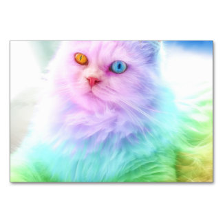 Unicorn Rainbow Cat Card