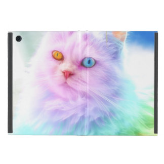 Unicorn Rainbow Cat Case For iPad Mini