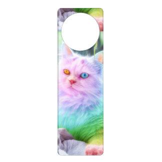 Unicorn Rainbow Cat Door Hanger