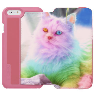 Unicorn Rainbow Cat Incipio Watson™ iPhone 6 Wallet Case