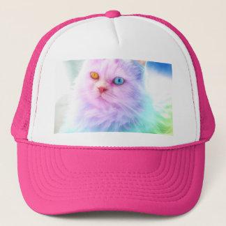 Unicorn Rainbow Cat Trucker Hat