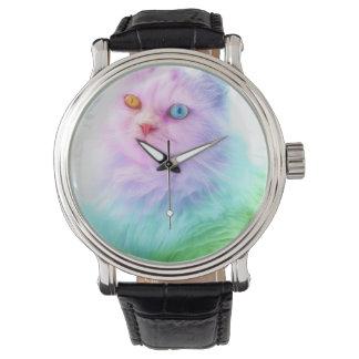 Unicorn Rainbow Cat Watch
