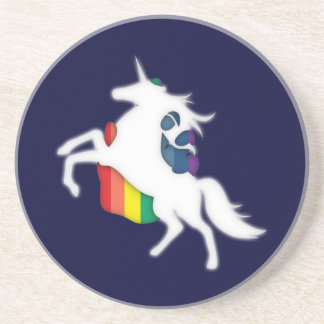 Unicorn & Rainbow Coaster