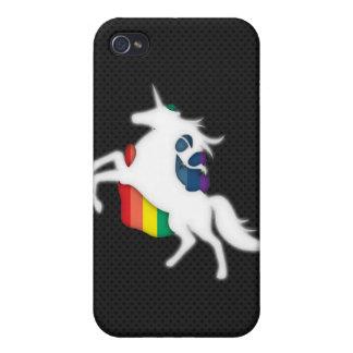 Unicorn & Rainbow Case For iPhone 4