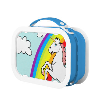 Unicorn Rainbow Lunch Box