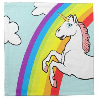 Unicorn Rainbow Napkin