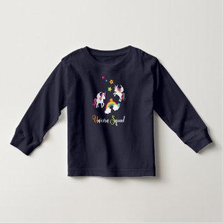 Unicorn Rainbow Stars. Fairy Tale Baby Toddler T-Shirt