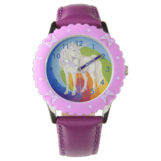 Unicorn Rainbow watch