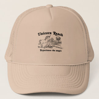 Unicorn Ranch Experience the Magic Trucker Hat