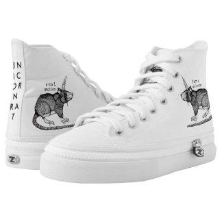 Unicorn Rat Printed Shoes