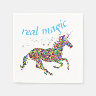 Unicorn Real Magic Paper Napkins