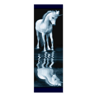 Unicorn Reflection Pack Of Skinny Business Cards