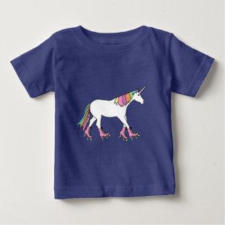 Unicorn Rollerskating Baby T-Shirt