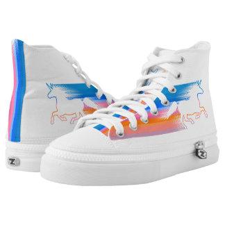 Unicorn Run Printed Shoes