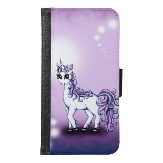Unicorn Samsung Galaxy S6 Wallet Case
