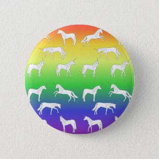 Unicorn selection 6 cm round badge