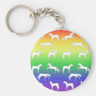 Unicorn selection key ring