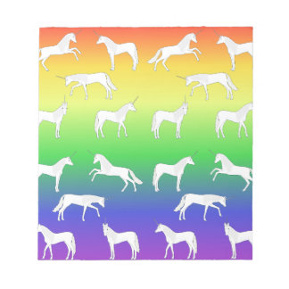Unicorn selection notepad