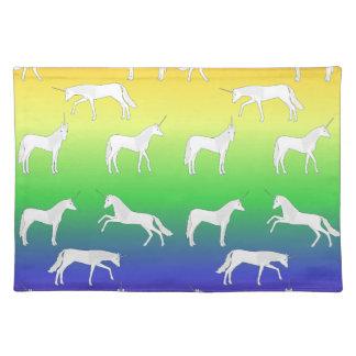 Unicorn selection placemat