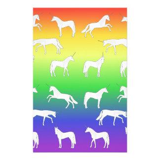 Unicorn selection stationery