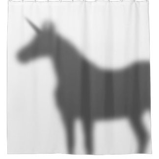 Unicorn Shadow Shower Curtain