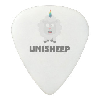 Unicorn Sheep Unisheep Z4txe Acetal Guitar Pick