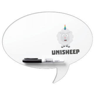 Unicorn Sheep Unisheep Z4txe Dry Erase Board
