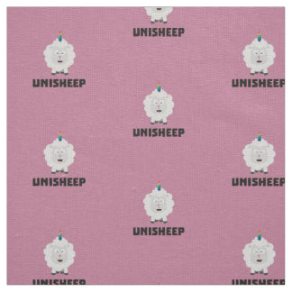 Unicorn Sheep Unisheep Z4txe Fabric