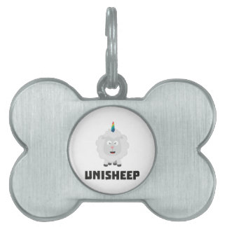 Unicorn Sheep Unisheep Z4txe Pet Name Tag