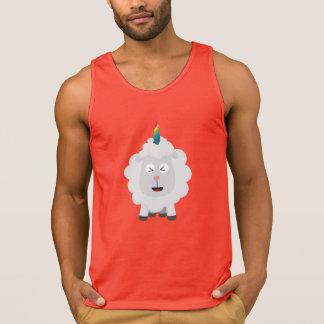 Unicorn Sheep with rainbow Zffz8 Singlet