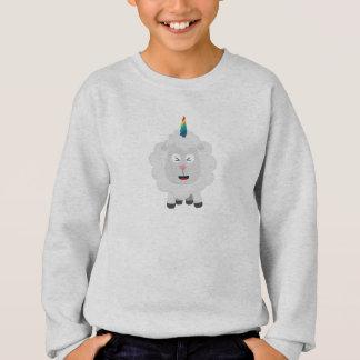 Unicorn Sheep with rainbow Zffz8 Sweatshirt