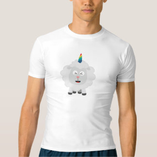 Unicorn Sheep with rainbow Zffz8 T-Shirt