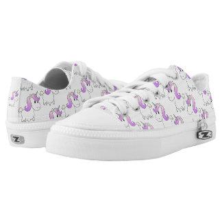 Unicorn shoes printed shoes