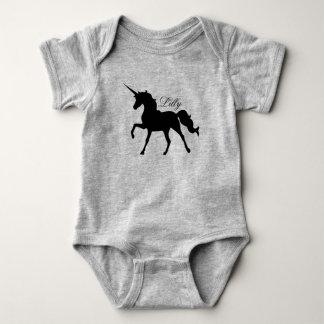 Unicorn Silhouette Baby Bodysuit