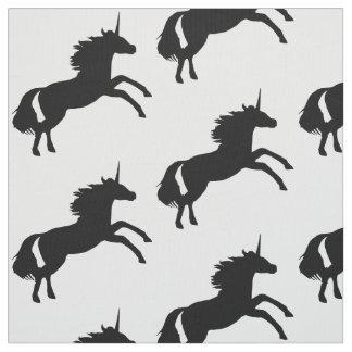 Unicorn Silhouette Fabric