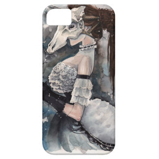 Unicorn Skull Masquerade iPhone 5 Cases