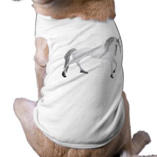 unicorn sleeveless dog shirt