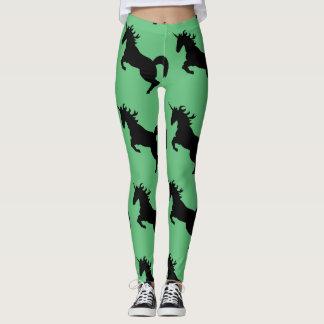 Unicorn Spring Green Explosion! Leggings